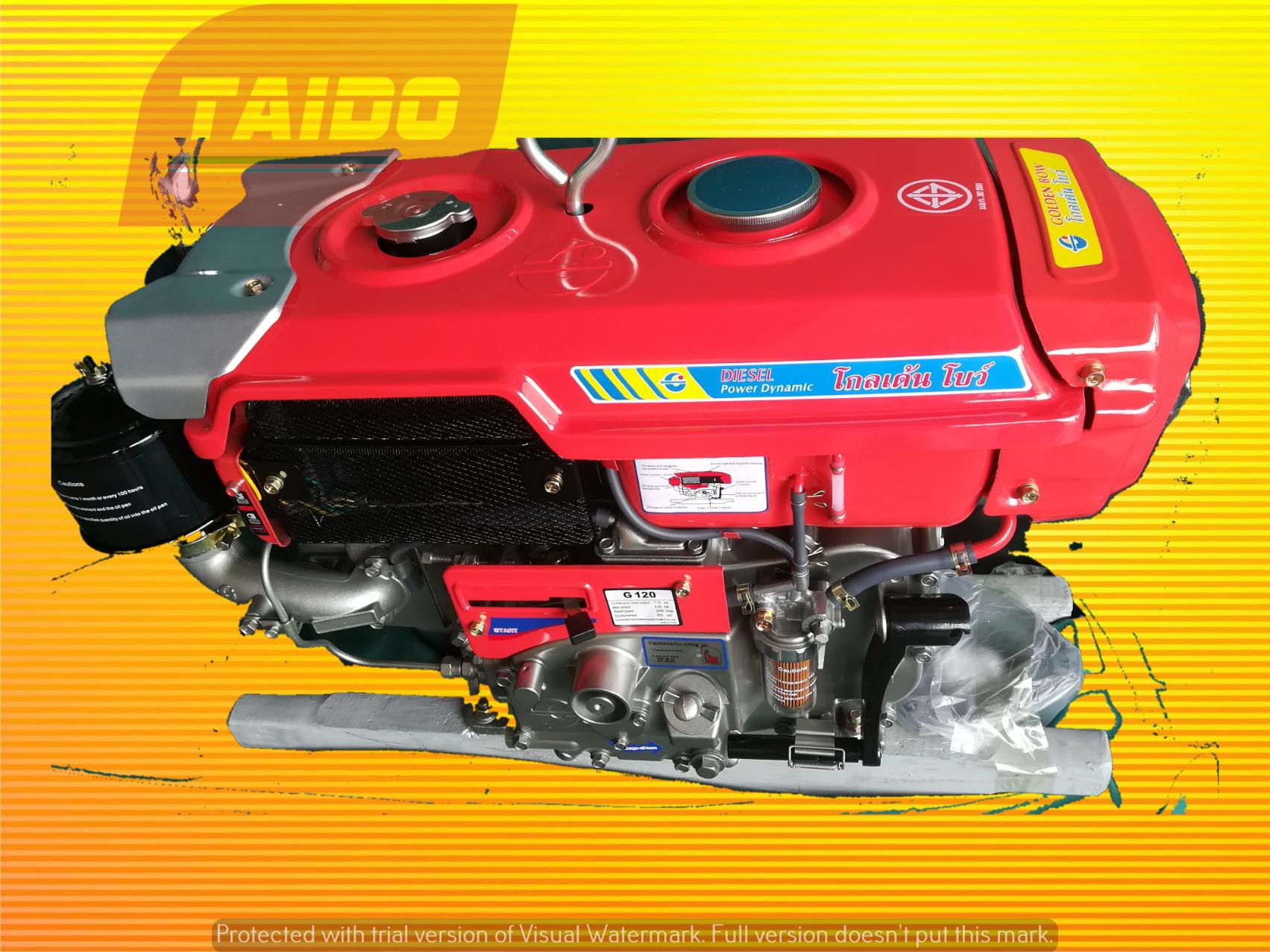 Golden Bow G120 Diesel Engine 12HP Diesel Engine Penang Malaysia